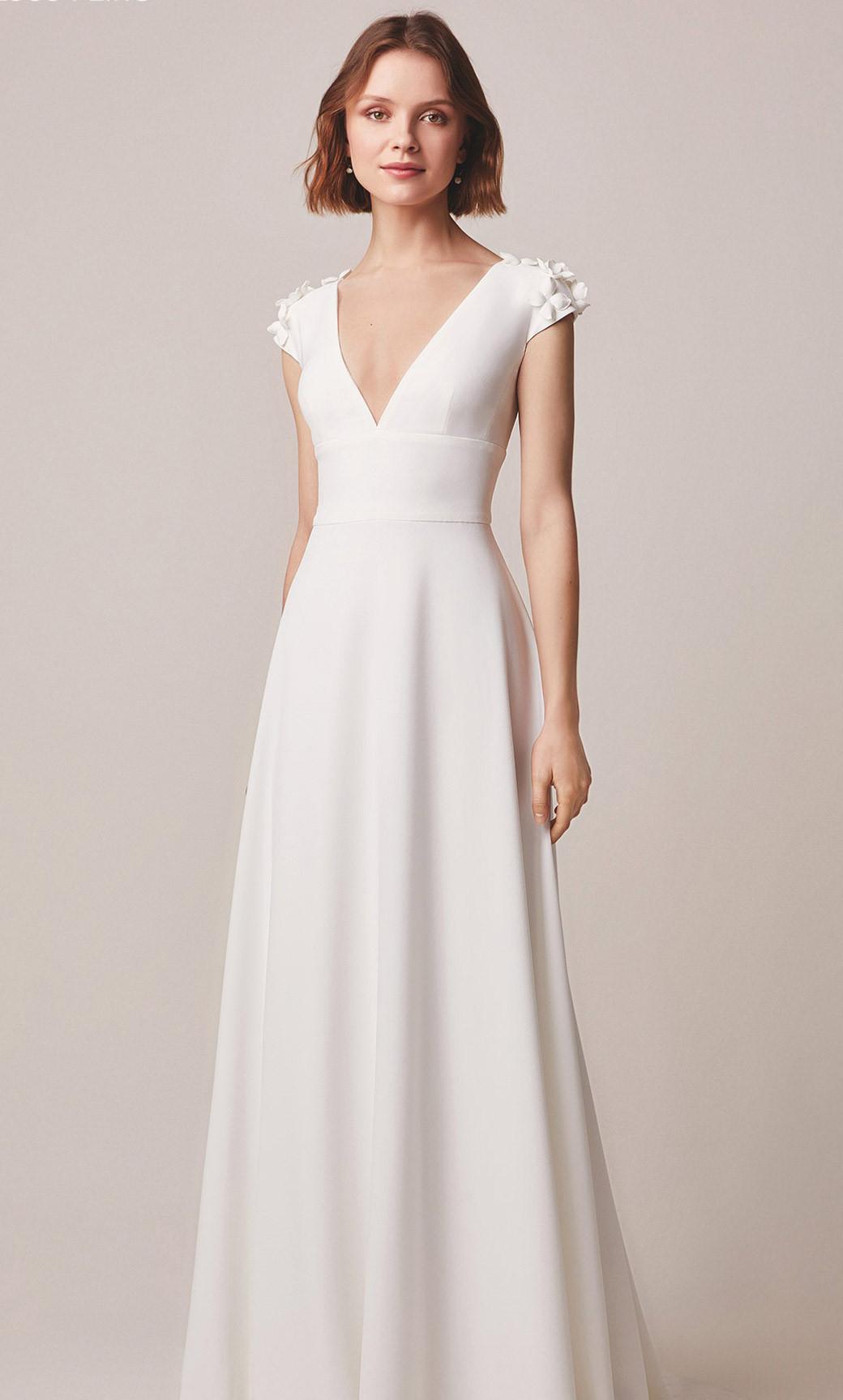 Brautkleider im Stil A-Linie